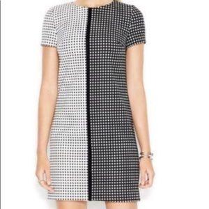 Betsey Johnson Black & White Reverse Check Dress